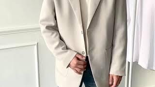 [그남자] 머스트 헤브 2버튼 자켓