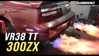 Inside a 300ZX with VR38 twin turbo power! | fullBOOST