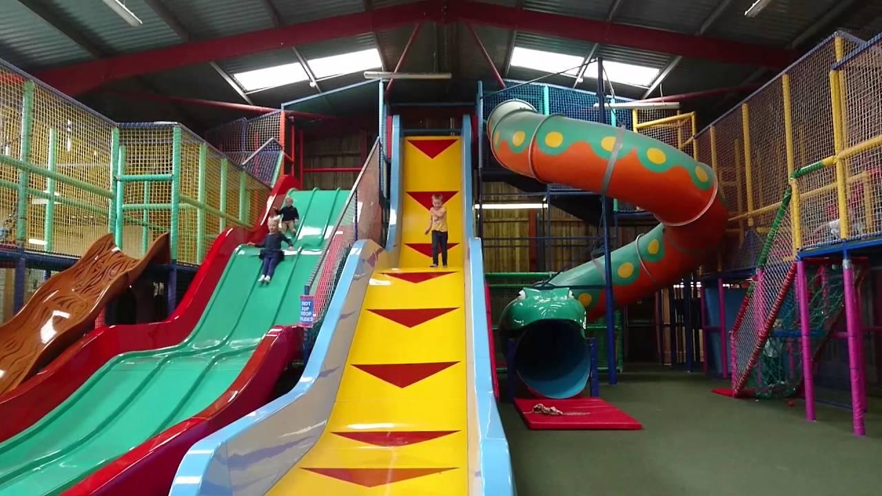 Drop Slide At Animal Farm Adventure Park Brean September 2016