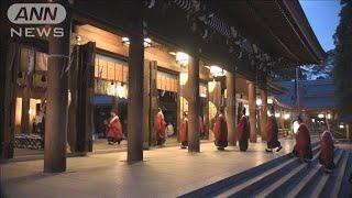 明治神宮で約60年ぶり ご神体を本殿へ「遷御の儀」(19/08/11)