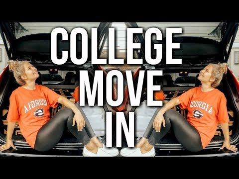 COLLEGE MOVE IN VLOG | UNIVERSITY OF GEORGIA