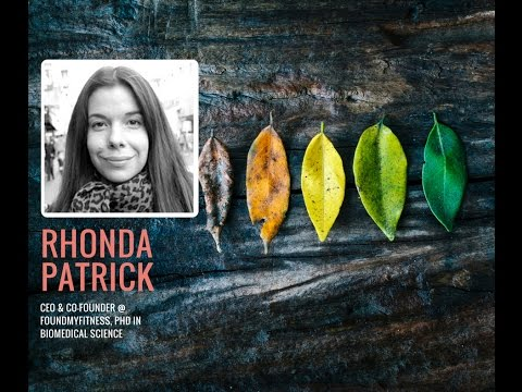 Dr. Rhonda Patrick on anti-aging, nutrition, cancer, fasting and sauna