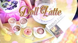 DIY - How to Make:  Doll Latte - Handmade - Doll - Crafts