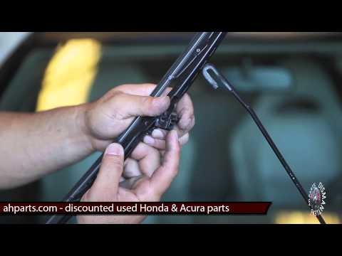 WINDSHIELD WIPER BLADES Replacement How to replace install fix change video tutorial installation