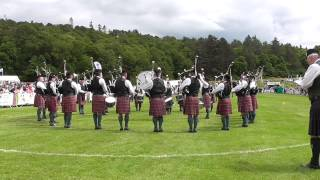 PSNI Pipes & Drums European Championships @ Forres 2015