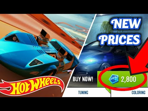 BIG Asphalt 8 Update - HOT WHEELS and new prices