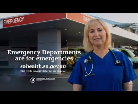 Emergency Departments are for emergencies