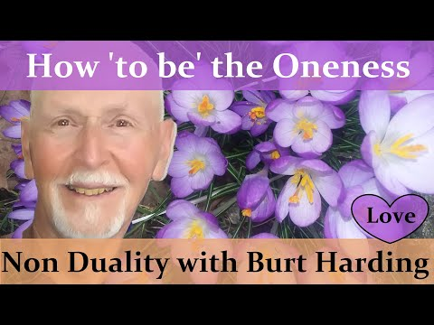 How 'to be' the Oneness  (Pure Experience)