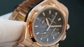 видео Купить Vacheron Constantin Overseas Chronograph 49150/000W-9501 в Москве, цена на Часы Вашерон Константин 49150-000W-9501.
