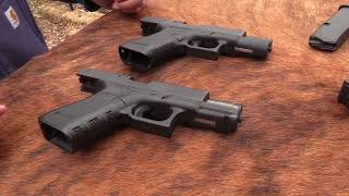 2 Glock 19 pistols that you don t see everyday
