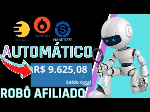 Robô Afiliado - Ganhe Dinheiro no Piloto Automático Como Afiliado, Hotmart, Eduzz, Monetizze, Braip