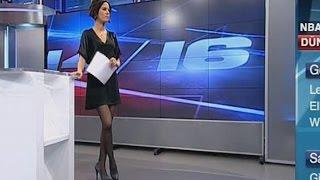 2013 01 25 Dilara Gönder Beautiful Turkish Tv Presenter 25 01 2013