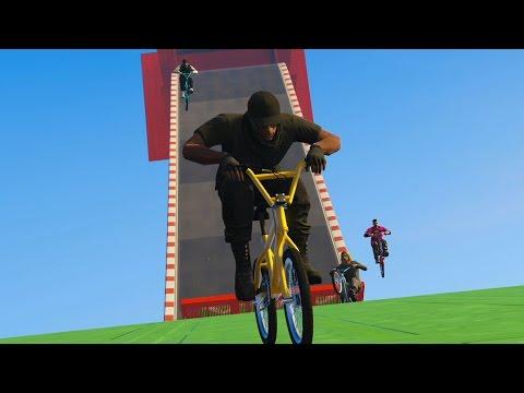 EXTREME BMX BIKING! | GTA 5 Online