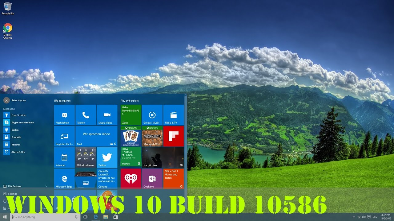 download windows 10 iso build 10586
