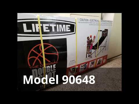 Unbox / Install Double Shot Basketball Arcade Game - Lifetime Products
