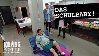 Krass Schule - Schülerin endbindet in Schule #008 - RTL II