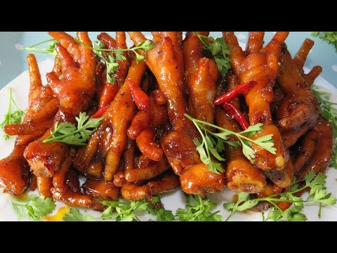 Cooking Chicken Feet With Coca Cola, Palm Sugar | Amazing Delicious Recipe