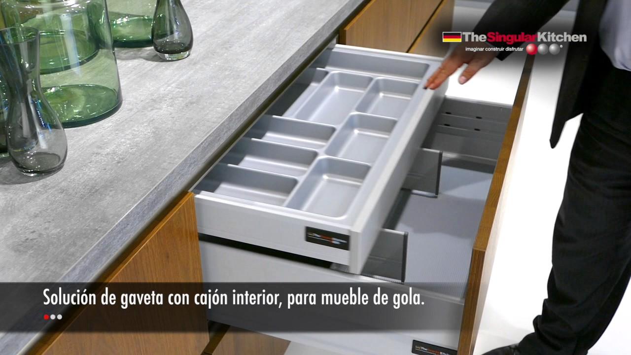 Muebles de cocina . Diseños de gavetas - YouTube