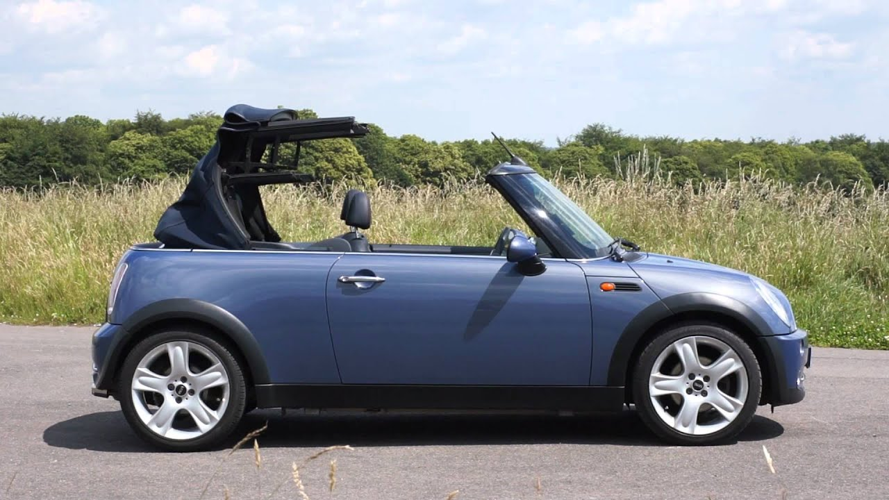 2004 mini cooper convertible remote roof operation youtube. Black Bedroom Furniture Sets. Home Design Ideas