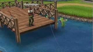 Сімс фріплей: Gone рибалка!