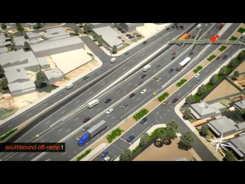 Torrens Road to River Torrens Project - Fly Through Animation