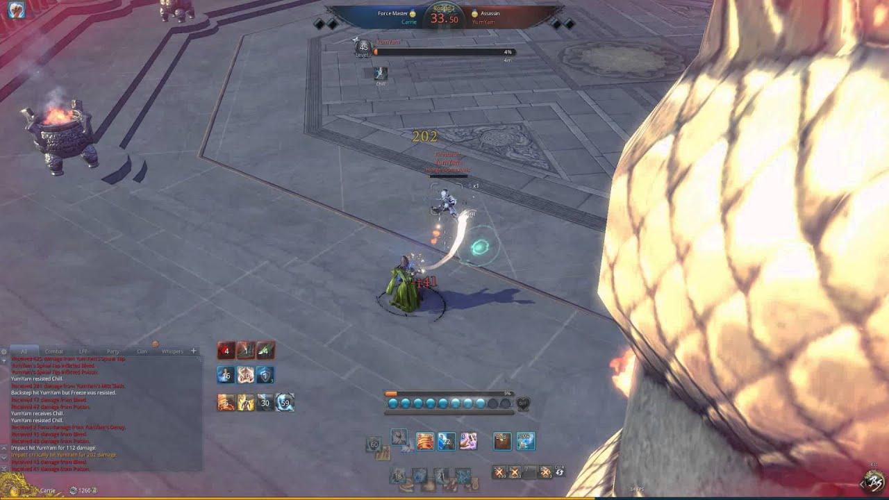Blade Soul Na Force Master Arena 1v1 Gameplay Yumyam