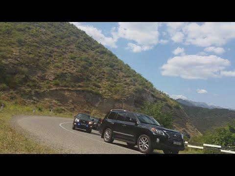 Кортеж в Армении 2016