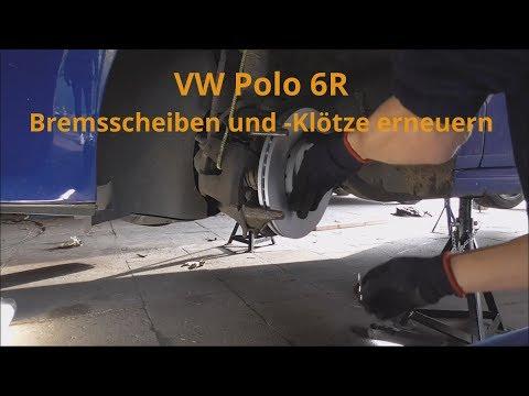 Beläge vorne Vorderachse VW Polo Classic 6KV Bremsen Bremsscheiben