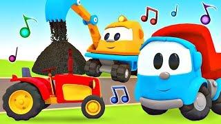 Cante com Léo o caminhão! Canções de carros e tratores ....