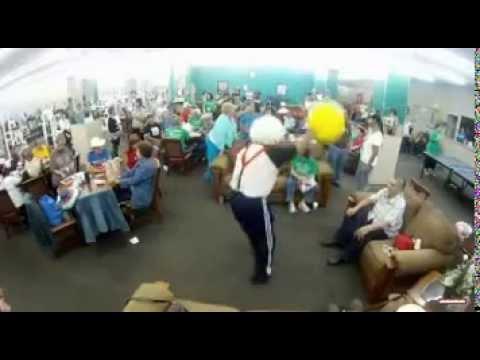 San Antonio Senior Citizens Do the Harlem Shake