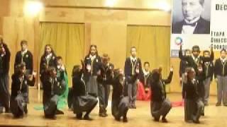 poesia coral tricampeones colegio nueva ...