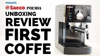 Saeco Poemia HD8423/19 | REVIEW