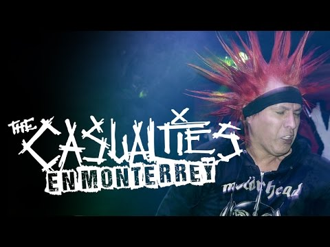 The Casualties - Monterrey -  Café Iguana