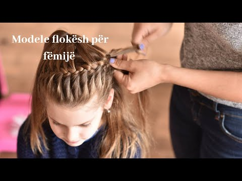 Makijazh Modele Flokesh Per Femije Youtube