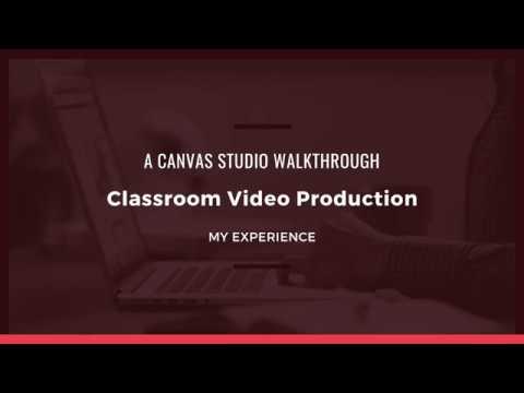 Canvas Studio Walkthrough