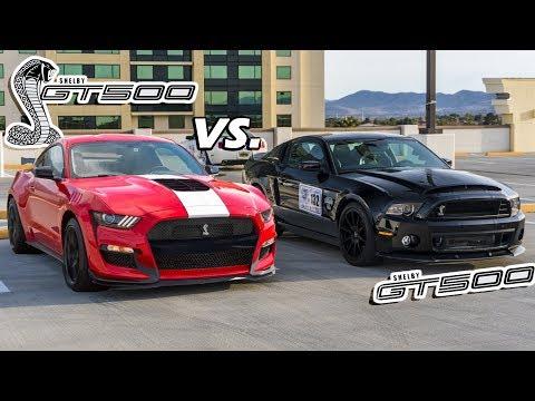 2020 GT500 vs. 2014 GT500 (An In-Depth Comparison)