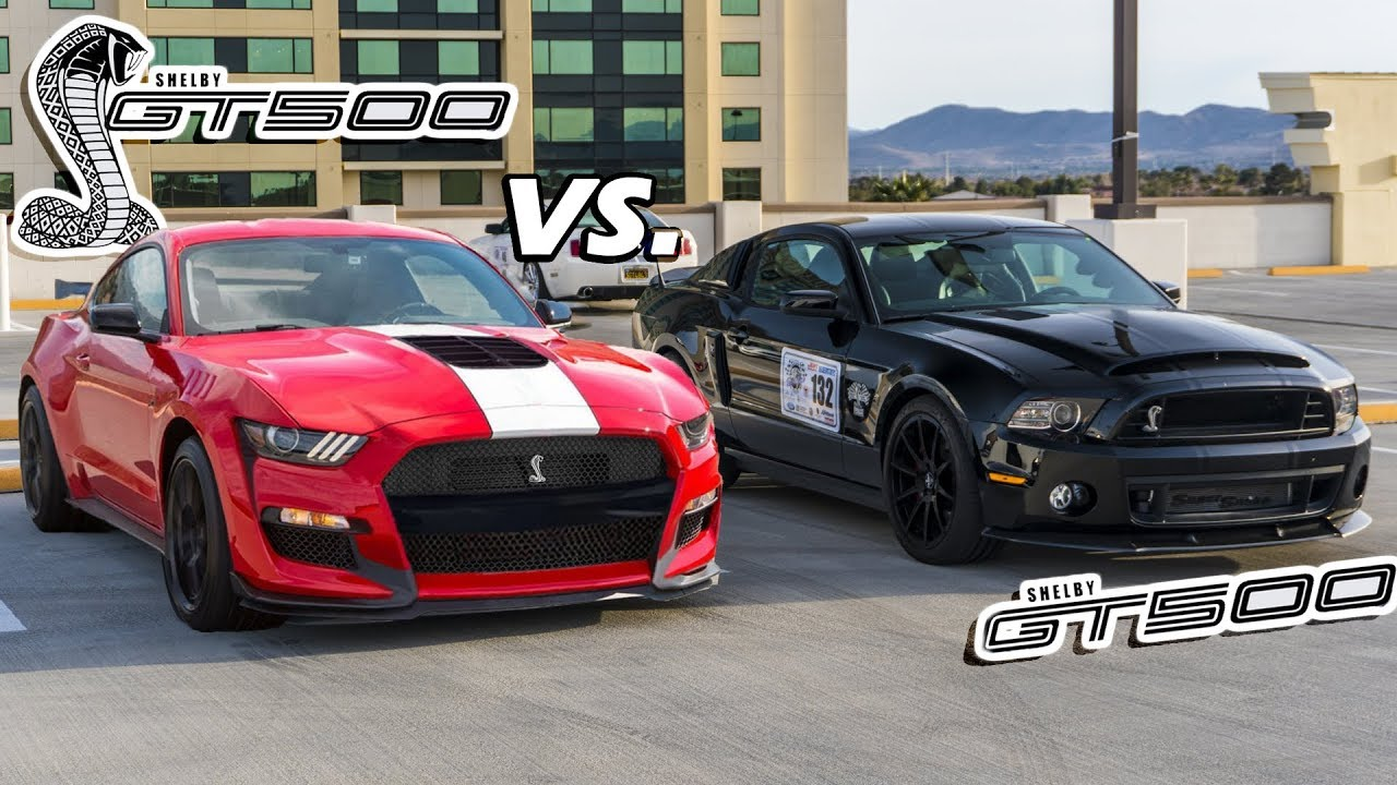 2020 Gt500 Vs 2014 Gt500 An In Depth Comparison Youtube
