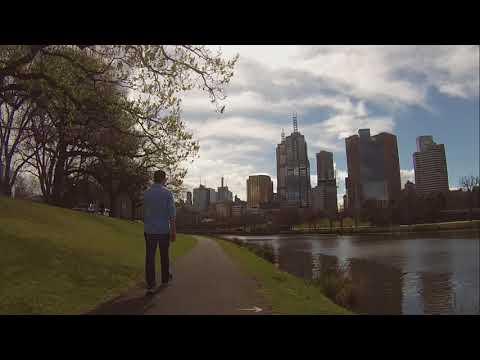 Xiaomi M365 Scooter Trip. Yarra River, Melbourne, Australia