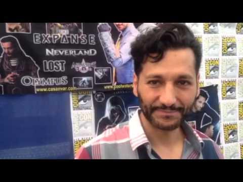 Cas Anvar Taks SyFy Extense At Comic-Con #SDCC