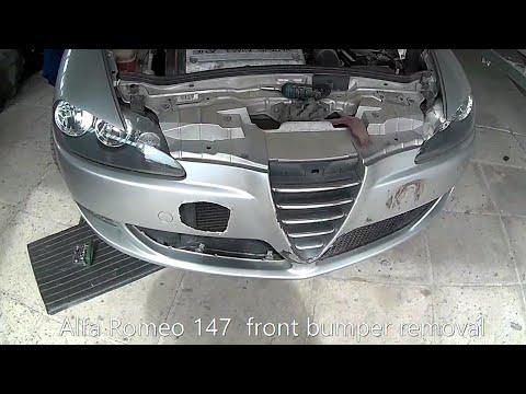 Alfa Romeo 147 front bumper removal