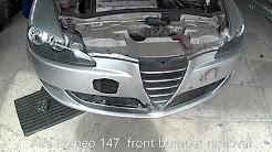 Alfa Auto Insurance >> Car Insurance Alfa Romeo 147 Bumper Removal Car Insurance