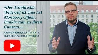 3 Fragen – 3 Antworten: Interview mit Rechtsanwalt Andree Hübner zum Widerruf von Autokrediten