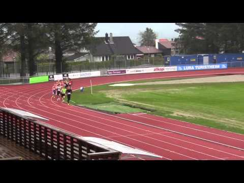 Sesongstart 800m Sandnes Stadion Ingebrigtsen