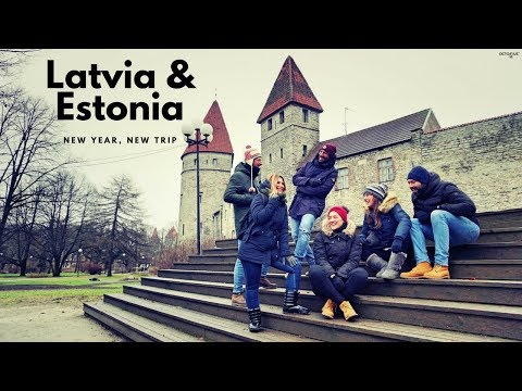 Latvia & Estonia - New Year, New Trip