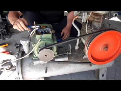 видео: Самодельный компрессор из холодильной установки на 220 вольт