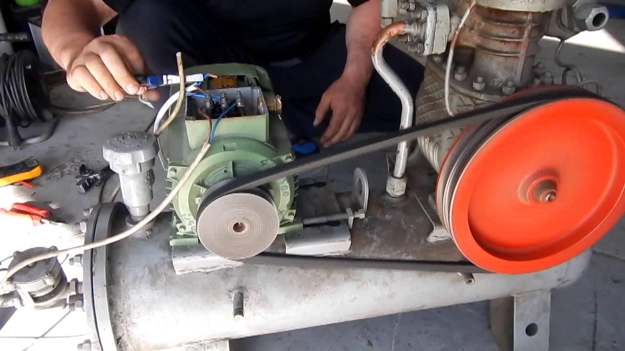 Как сделать с холодильного компрессора компрессор для 707