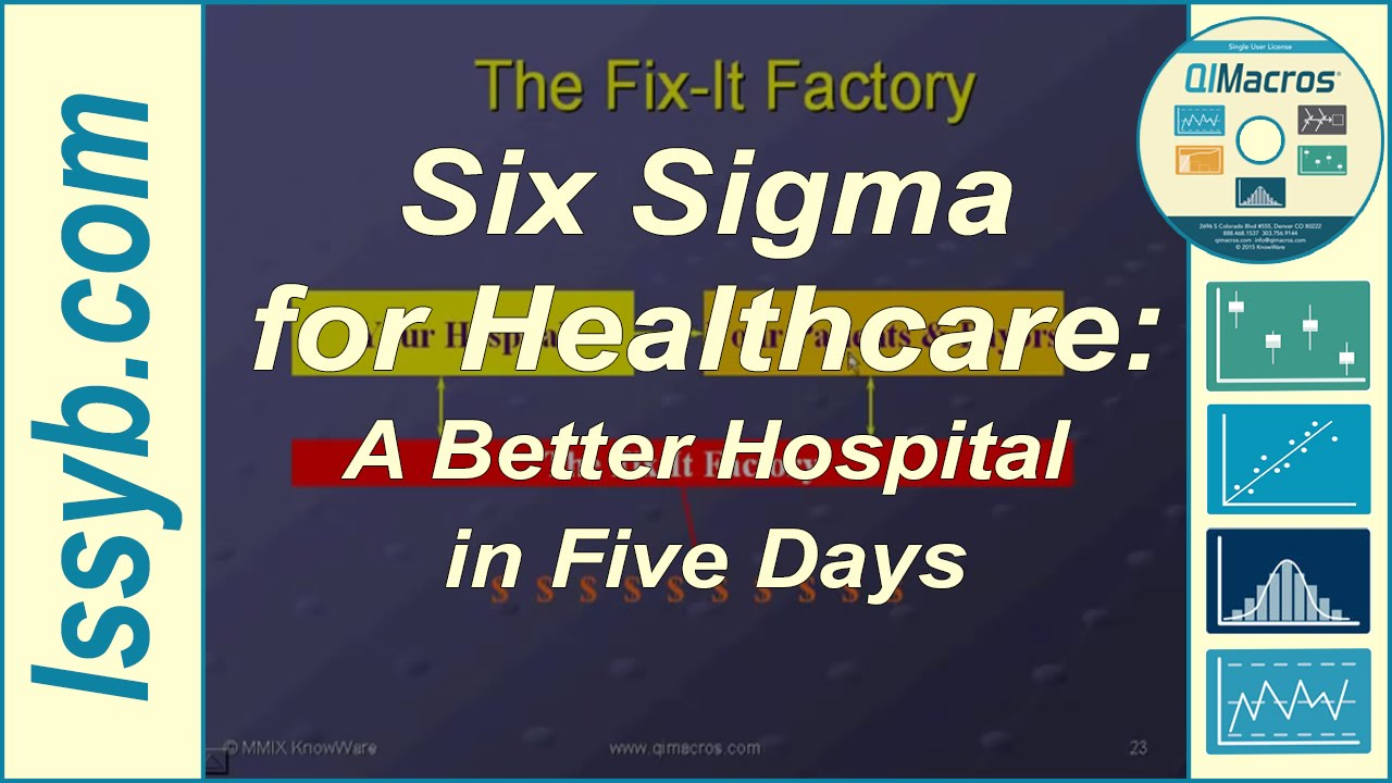 Six Sigma For Healthcare A Better Hospital In Five Days Youtube