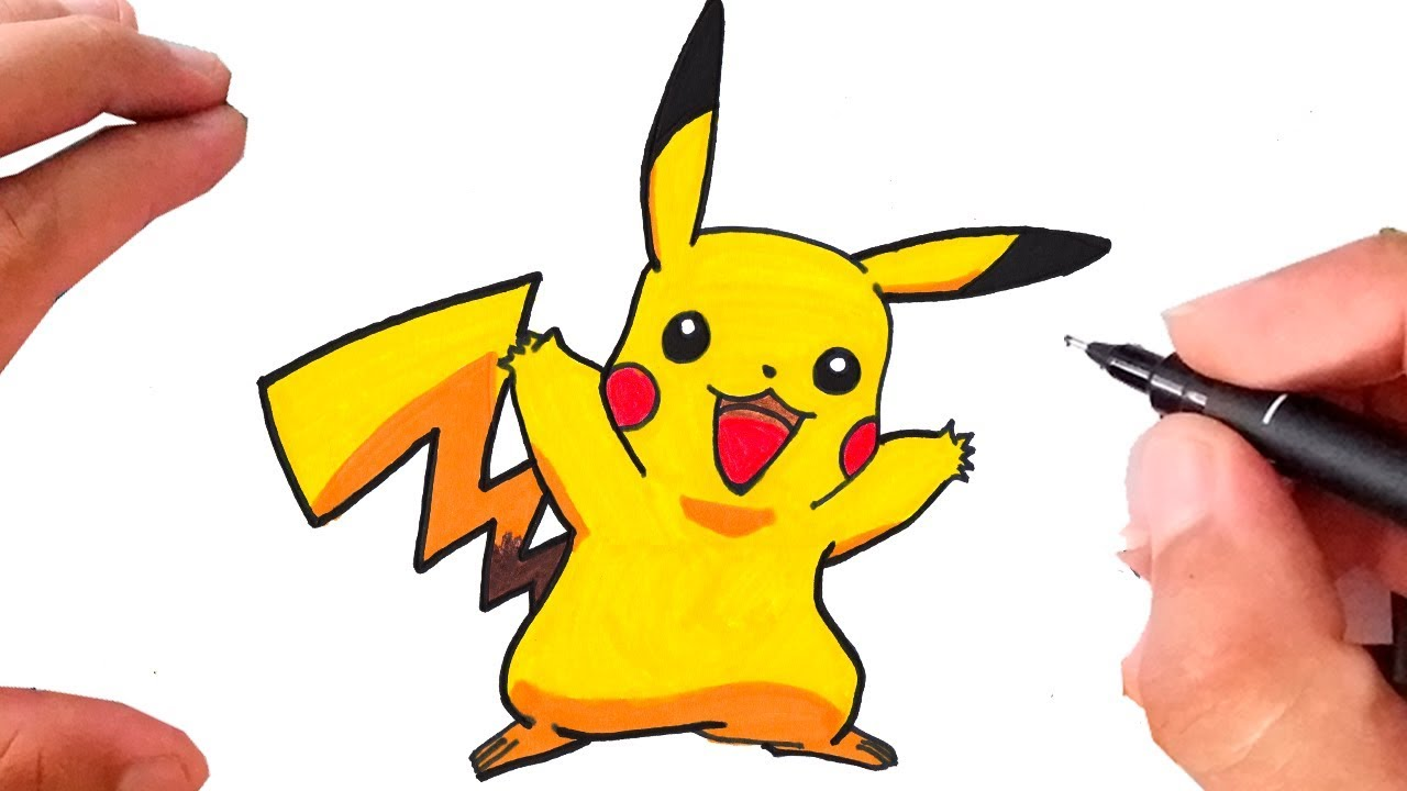 Como Desenhar O Pikachu Pokemon Youtube