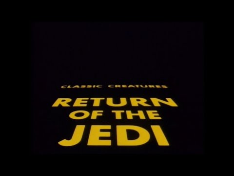 Star Wars Classic Creatures: Return Of The Jedi 1983 Documentary