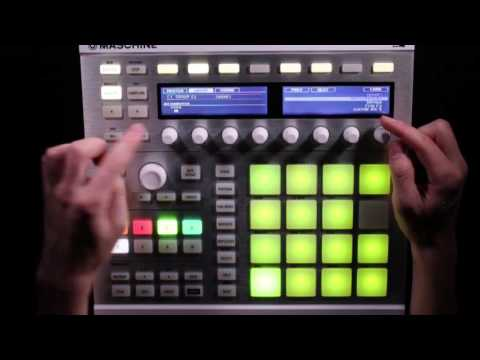 Maschine Tutorial - Creating a Performance Kit, Pt 4 - Mixing and Playing